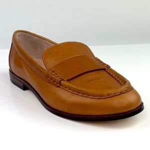 New J Crew AL940 Classic Leather Penny Loafers 8